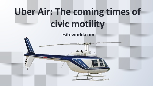 Uber Air: On Demand Air Transportation