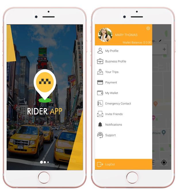 Uber Clone – Taxi App Solution