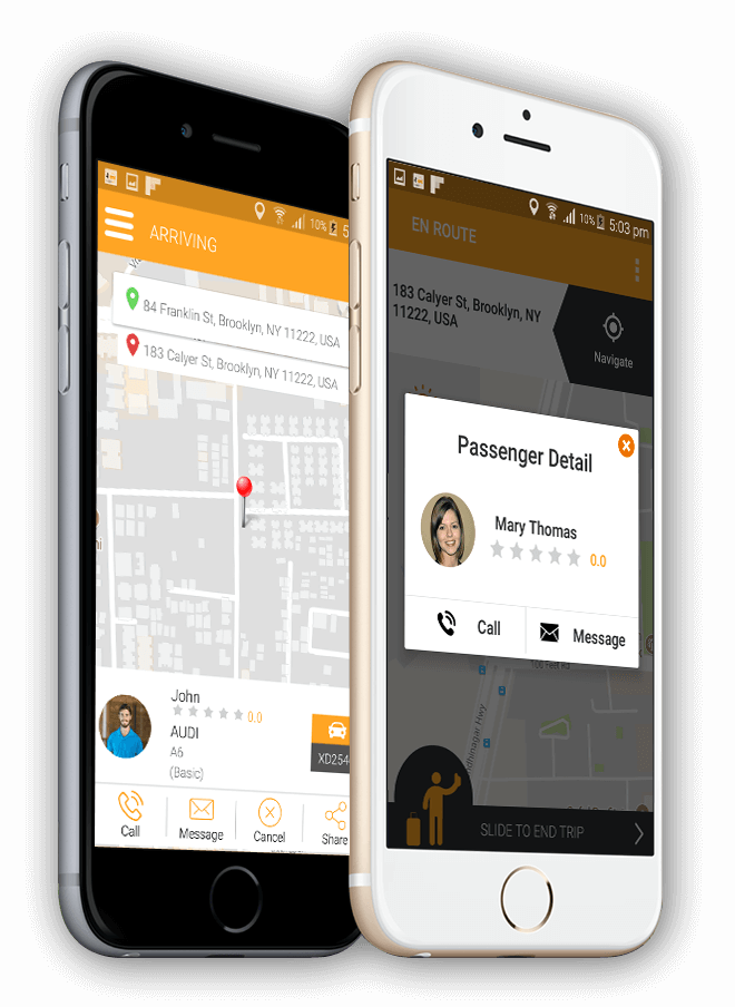 Uber Clone – Taxi Booking Software