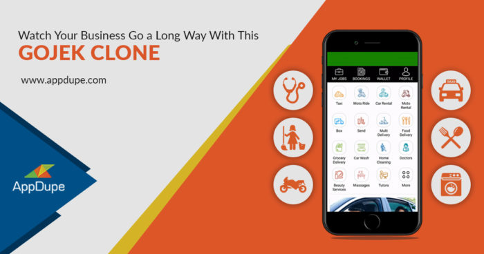 Watch your Business Go a Long Way with this Gojek Clone  These uber clone app features are simpl ...