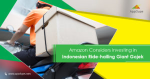 Amazon considers investing in Indonesian ride-hailing giant Gojek