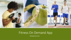 Fitness On Demand App
