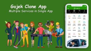 Gojek Clone Script – Multi Featured On Demand App