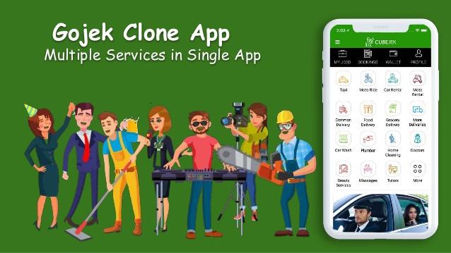 Gojek Clone Script – Multi Featured On Demand App