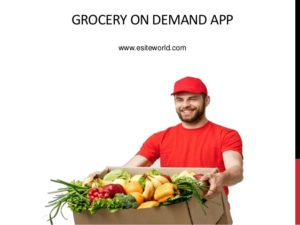 Grocery On Demand App