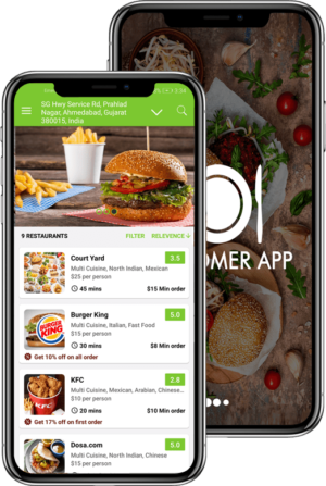 Healthy meals delivered to your doorstep: on-demand food delivery app