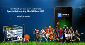 How Much Does it Cost to Develop Sports Betting App like William Hill?