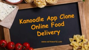 Kanoodle App Clone for Online Food Delivery