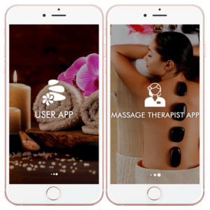 The well-trained hands you can trust: Massage booking app