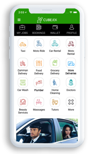 Fulfill your requirements in minutes with Gojek clone