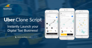 Uber clone solution – Easily handle your taxi business and double the profits with a taxi app