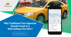 Launching a taxi booking app for your traditional taxi business