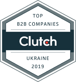 Appus is one of the Top Ukrainian Development Companies, Clutch Leader Award