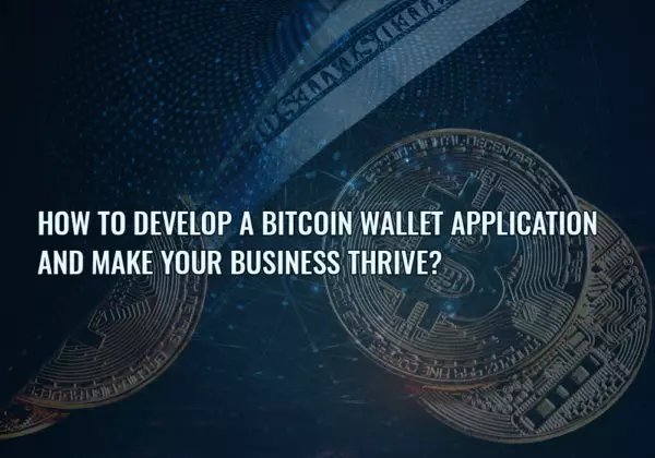 Develop a bitcoin wallet app