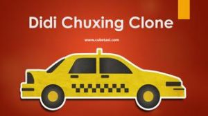 Didi Chuxing Clone App