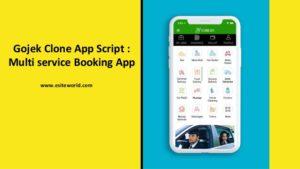 Gojek Clone App Script – Multi service Booking App