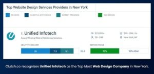 Unified Infotech Ranks No.1 among New York Web Design Companies – New York City, NY Patch: ...