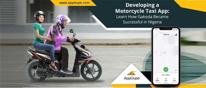 Developing a Motorcycle Taxi App: Learn how Gakoda became a Successful Bike Taxi Startup