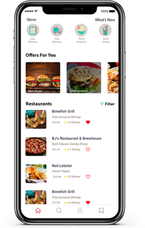 As the leading food ordering app development firm, we are dedicated to designing, building, test ...