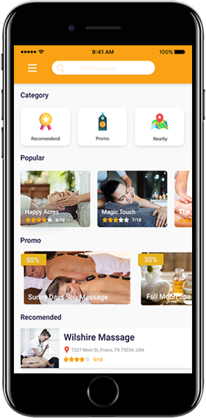 Get into on-demand massage app development and assist people in connecting with their preferred  ...