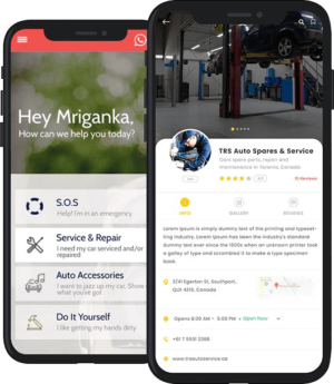 Help people to get mechanic services at the instance of breakdown by developing an Uber for mech ...