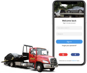 Aid tow truck drivers with instant roadside assistance by developing an app like Uber for tow tr ...