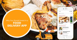 Why you should invest in a food delivery app