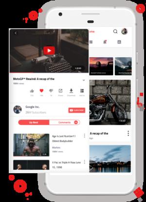 YouTube Clone | YouTube Clone Script | Video Streaming App Development – AppDupe