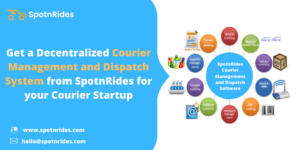 Build your Own Online Courier Management Software with SpotnRides