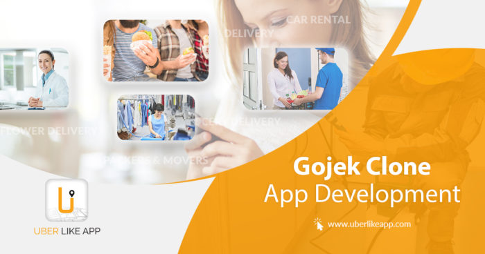 On-demand businesses included in the Gojek clone app