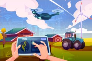 IoT applications helping farmers to make smart farming. Here you can find more about the future  ...