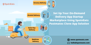 Build Your Own On-Demand Delivery Startup With SpotnEats Postmates Clone App Solution
