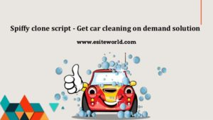 Spiffy clone script – Get car cleaning on demand solution