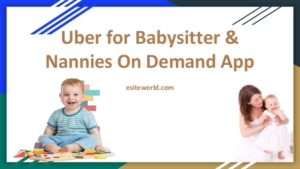 Uber for Babysitter or Nannies On Demand App