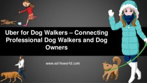 Uber for Dogwalkers – Connecting Professional Dogwalkers and Dog Owners