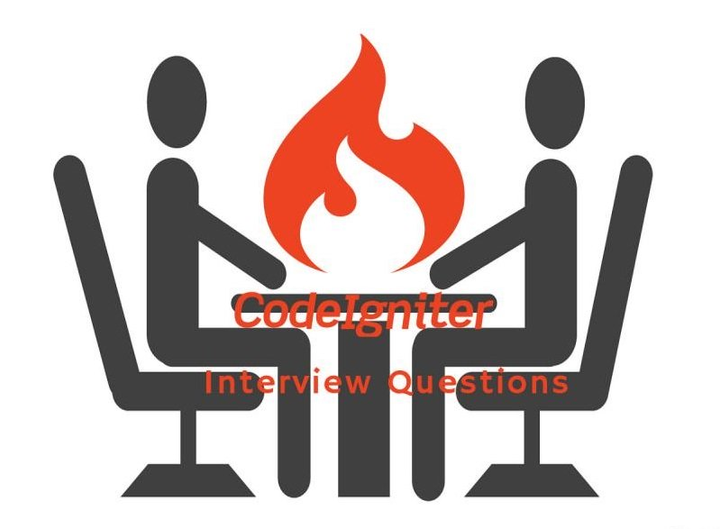 CodeIgniter Interview Questions | InterviewQueries CodeIgniter is used to build dynamic web site ...