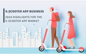 How promising is the E-scooter app business? 2019 highlights for the e-scooter app market