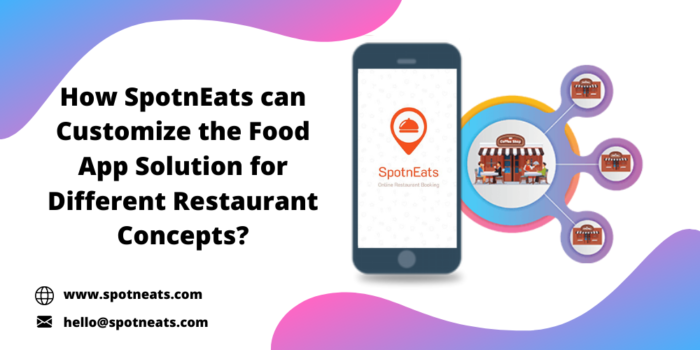 How To Build Custom Food App Solution that Suit Well for Different Restaurant Concepts?