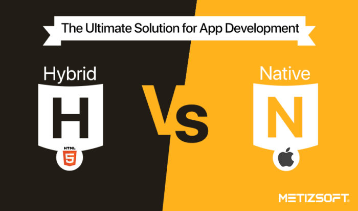 Hybrid vs. Native- Which is the Ultimate Solution for App Development?