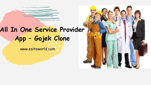 On Demand Multi Service App Like Gojek