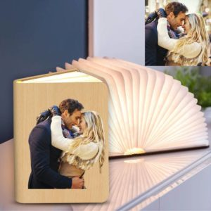 Personalized Couple Gift Photo Lamp, Creative Book Lamp Desk – Colorfu – photomoonlamp