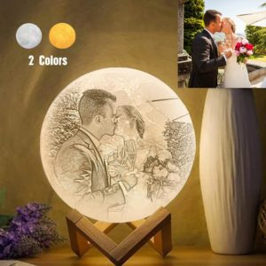 Personalized Lover Creative 3D Print photo Moon Lamp, Engraved Lamp –  – photomoonlamp