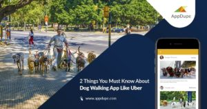 2 Things You Must Know About Dog Walking App Like Uber