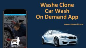 Washe Clone: On-Demand Car Wash App Development