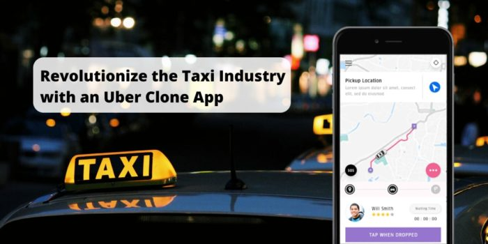 Develop a taxi app and overcome the traditional problems in a taxi business