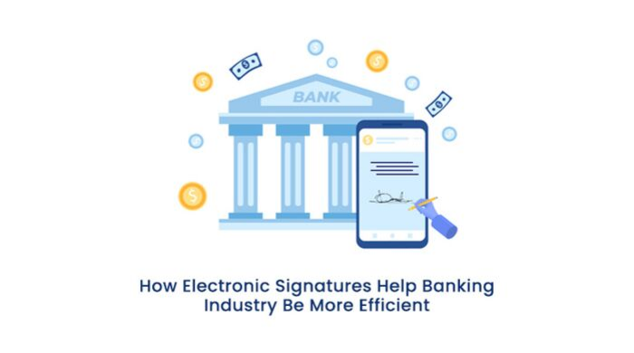 CrowdforApps : Blog -How Electronic Signatures Help Banking Industry Be More Efficient