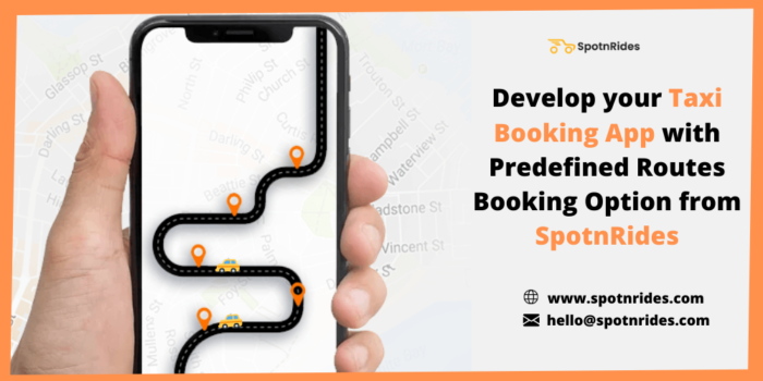 Build Your Taxi Booking App With Exclusive Predefined Routes Booking Feature