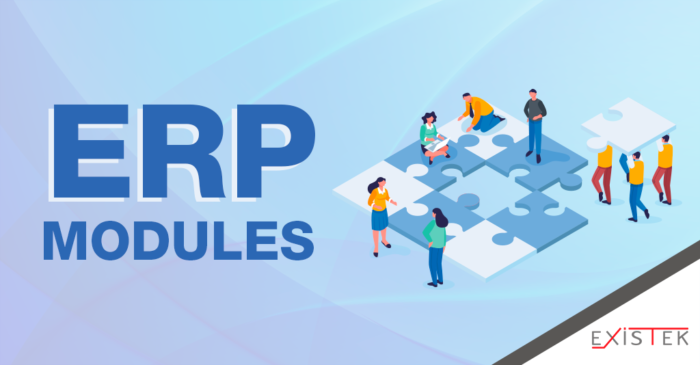 ERP Modules: Main Features, Functionality, and Workflows | Existek Blog