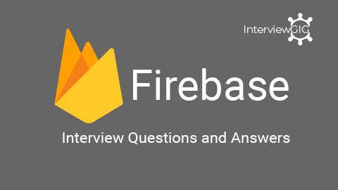 Firebase Interview Questions & Answers   InterviewGIG_Top Firebase android Interview Questio ...