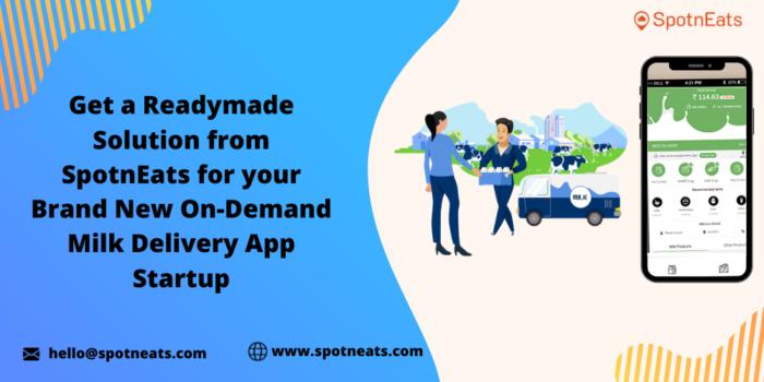 On Demand Milk Delivery App Development
